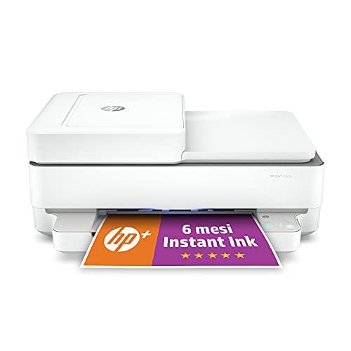 HP ENVY 6420e Stampante Multifunzione, 6 Mesi di Inchiostro Inclusi con HP+