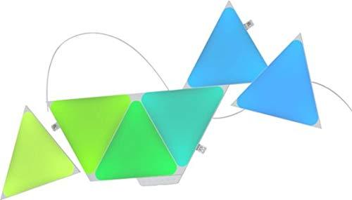 Nanoleaf Shapes - 三角形スマートキット (7パネル)