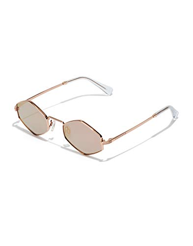 HAWKERS Vudoo Sunglasses, Rose gold, Única Unisex-Adult