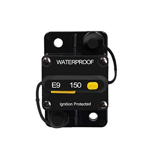 Uayasily Circuit Breaker Interruptor De Circuito con Restablecimiento Manual Estéreo De Audio Bicicletas Fusible En Línea Adecuado para Protección De Sobrecarga De Corriente del Coche del Auto Motor