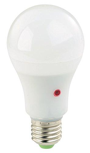 Luminea Leuchtmittel: LED-Lampe mit Dämmerungssensor, E27, 11 W, 950 lm, tageslichtweiß (LED Dämmerung)