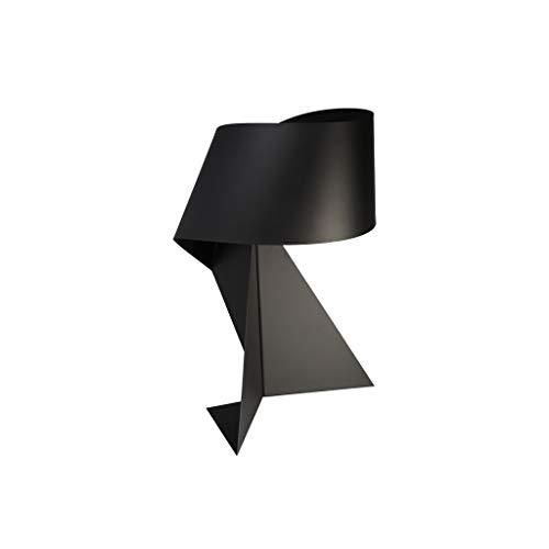 JXLBB Nordic Modern Minimalist Kreative Tischlampe Schwarz Origami Dekorative Lampe Persönlichkeit Schmiedeeisen Schlafzimmer Nachtarbeitszimmer Wohnzimmer Lampe Kreative Stil Exquisite Atmosphäre, Ei