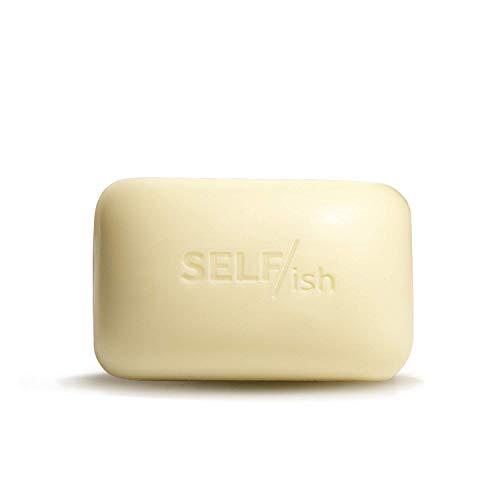 SELF/ish Mens Soap   Natural Moisturizing Body Bar for Men   Shea Butter, Coconut Oil and Vitamin Boost   Sandalwood, Cedar & Juniper   Long-lasting   5oz