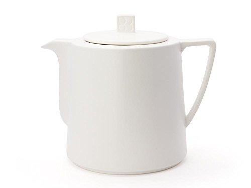 Bredemeijer Teekanne Lund 1,5L, weiß, Keramik, 144x205x174mm