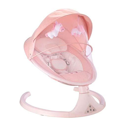 AZZ baby elektrische schommelstoel, baby schommel, 5-speed schommel Amplitude + timing functie, bevrijding moeder handen, eenvoudig te monteren