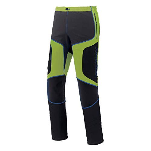 Trangoworld Ghawdex Sn Pantalones Largos, Hombre, Verde (ácido/Antracita), XL