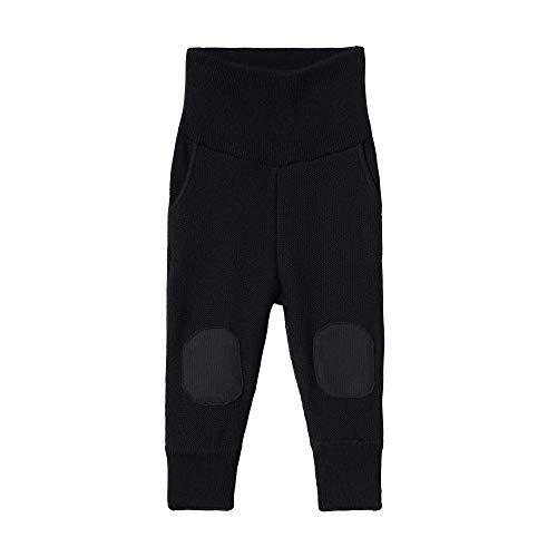 Steiff Hose Pantalon, Bleu (Black Iris 3032), 58 (Taille Fabricant: 56) Bébé garçon