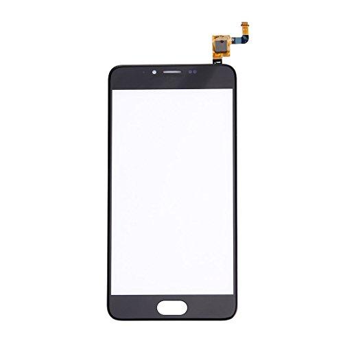 GGAOXINGGAO Pieza de reemplazo del teléfono móvil Meizu M5 / Meilan 5 Touch Screen Digitizer Assembly Piezas de Repuesto de teléfono (Color : Black)