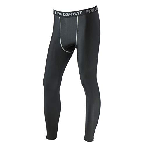 Sport Leggings Thermounterhose für Herren, Männer Kompressionshose Funktionhose Fitness Strumpfhosen Unterhose Lang für Radfahren Fußball Basketball Laufen 3XL Xbao
