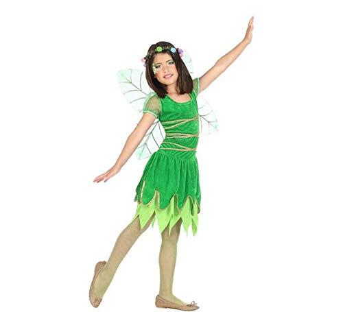 Atosa-56917 Disfraz Hada, Color Verde, 5 a 6 años (56917)