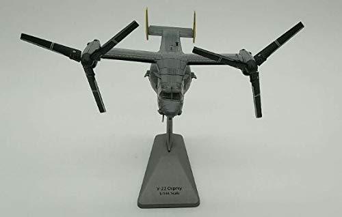 No Giocattolo Modello Militare American Boeing V-22 Osprey Elicottero Giocattolo in Metallo pressofuso Modello Aereo, Adatto per la Raccolta di Giocattoli per Bambini Scala 1/144