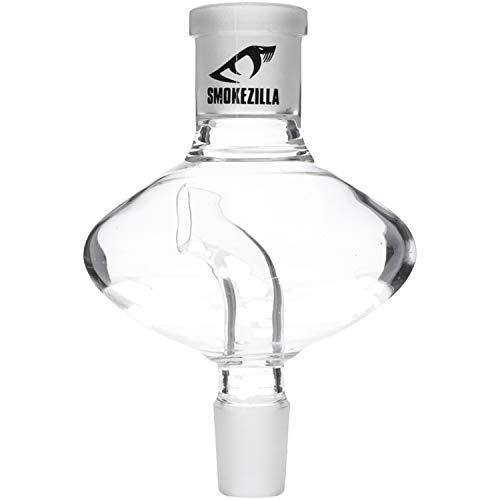 Smokezilla® Glas Shisha Molassefänger UFO 18/8 | Das Wasser im Glas bleibt länger sauber & die Rauchsäule ist Leichter zu reinigen! | Mit coolem UFO Optik!