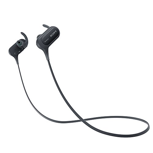ソニー ワイヤレスイヤホン MDR-XB50BS : 防滴/スポーツ向け Bluetooth対応 マイク付き ブラック MDR-XB50BS B