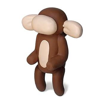 rubber monkey dog toy