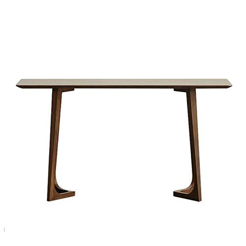 Nueva mesa de consola de madera maciza de estilo chino, mesa larga y larga para el hogar contra la pared, escritorio de decoración del sofá de la sala de estar del pasillo, utilizado en esquinas est