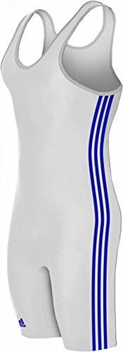 adidas Heavy Lycra 3 rayas camiseta de lucha libre