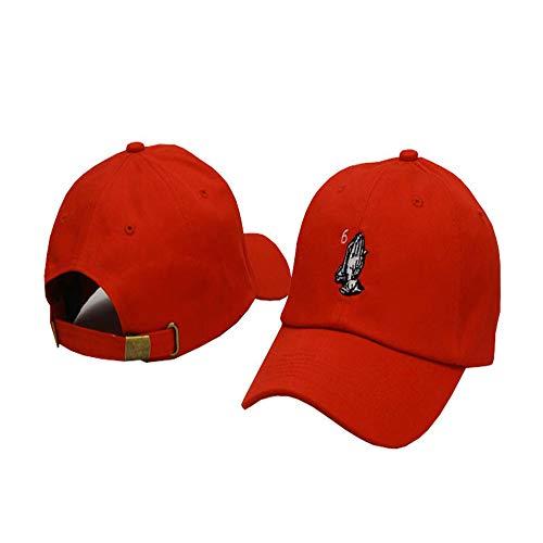 sdssup Kappe, gebogener Hut, Baseballmütze, amerikanischer Retro-Hip-Hop-Hut 9 einstellbar
