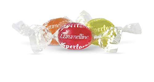 Sperlari - Caramelline Alla Frutta Assortite All'Aroma Di Albicocca, Arancia, Amarena, Sacchetto Di 1 Kg