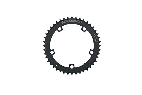 Zoagear Single Speed Chainring 130 BCD 44 Teeth Track Fixed Gear Bike Black