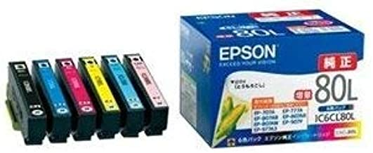 エプソン インクカートリッジ IC6CL80L 6色パック ds-2167757