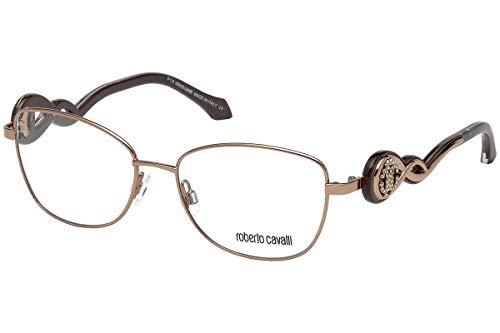 Roberto Cavalli RC5027 Gafas de sol, Dorado (Bronzo Chiaro Luc), 54.0 Unisex Adulto