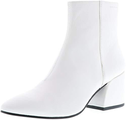 Vagabond Olivia Damen Kurzschaft Stiefel Stiefeletten weiß, Größe:37, Farbe:Weiß