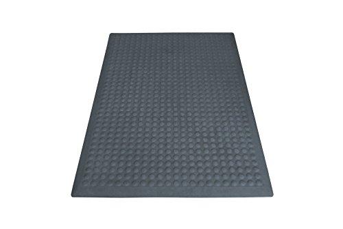 Miltex 17022Tappetino Yoga Flex Singolo, Zerbino, 60x 90cm, Grigio