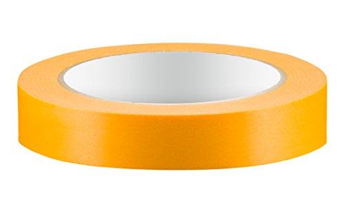 Colorus PREMIUM Goldband Fineline - 19 mm - 50m - Soft Tape Klebeband - Lackierband - Abdeckband - Abklebeband