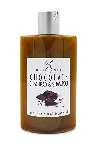 Haslinger 2952 - Chocolate Duschbad & Shampoo mit Honig & Mandelöl 200ml