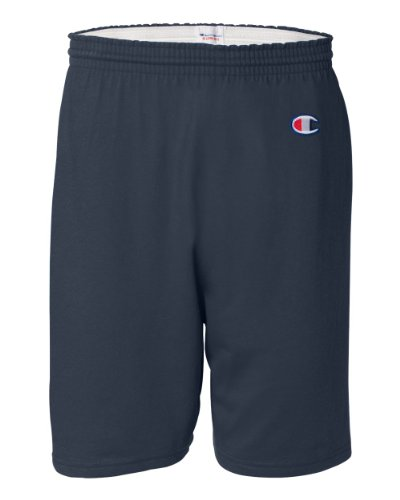 Champion Men's 6-Inch Navy Cotton Jersey Shorts - XX-Large