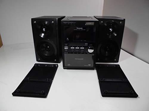 Panasonic パナソニック SC-PM710SD-K ブラック SDステレオシステム CD/MD/SD/カセット/AM/FMラジオコンポ (センターユニットSA-PM710SDとスピーカーSB-PM710のセット)