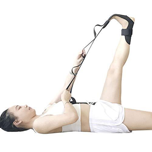 Hspemo Correa elástica para yoga, fitness, cinturón elástico de ejercicios, correa de estiramiento.