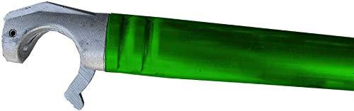 Alumexx Schoren 190 cm Horizontaal - Gekleurde Schoren - AS & FS Rolsteiger - Kamersteiger Steiger Onderdelen (Groen)