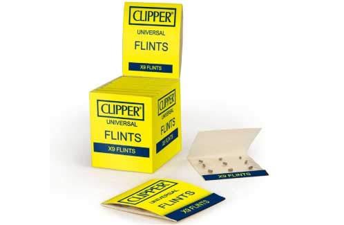 Clipper Classic vuurstenen 1 verpakking met 9 stenen - Limited Clipper gas aansteker bong aansteker pijp wegwerp