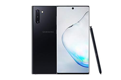 Samsung Galaxy Note10 Dual-SIM 256 GB 6.3-Inch Android Smartphone - Aura Black (UK Version)