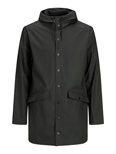 Jack & Jones JJEHAZE Rain Jacket STS Veste, Noir, L Homme