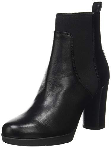 Geox Damen D Anylla High Ankle Boot, Schwarz, 40 EU
