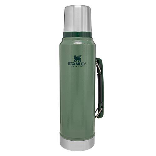 Stanley 10-01254-036 Classic Vacuum Bottle, Hammertone Navy, 1.1-Quart