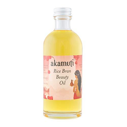Akamuti Aceite de belleza para salvado de arroz 100 ml