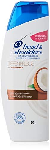 Head & Shoulders - Champú anticaspa con aceite de coco, 300 ml, aceite de coco, champú contra la...