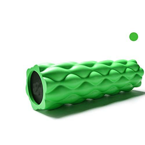 JJZD Rodillo de Espuma de Alta Densidad, Punto de activación Rodillo de Espuma for el músculo y Profundo Masaje de relajación Terapia, Alivia la tensión de Espalda y piernas, Ideal for los Corredores