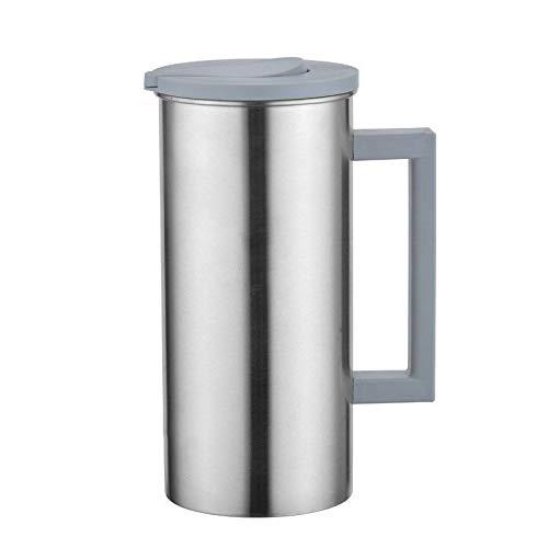 Koreaanse RVS koude waterkoker grote capaciteit multifunctionele sap dranken koude waterkoker koffie bekers geschenk 1.8L, capaciteit: Nordic Gray