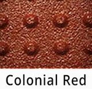 Truncated Domes - 2' x 2' - Surface Mount ADA Truncated Domes Tiles - Colonial Red
