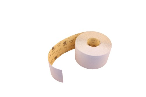 1 Rolle Schleifpapier Industrieware/weiß P80, 115mm, 3m