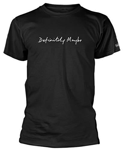 Oasis 'Definitely Maybe' (Black) T-Shirt (x-Large)