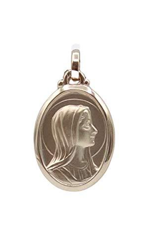 Medalla NGL - Placa de oro con 3 espejos ovalados para interior de arena, 25 x 15 mm