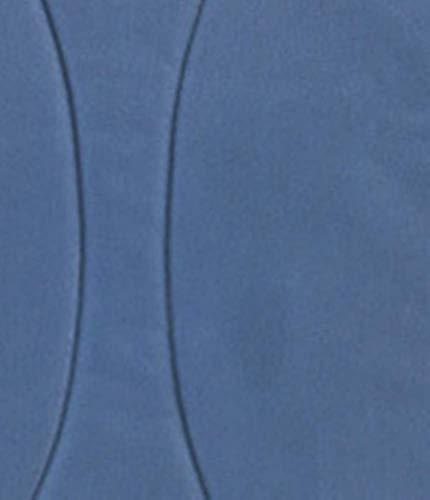 KLI Nouveau-Né Bébé Se Pliant Portatif De Matelas De Lit De Bébé Paniers De Sommeil De Coton De Bébé Sac De Voyage Paquet De Maman, Lit De 92 * 33 * 17Cm, Matelas, 2 Protections Anti-Roulement,Blue