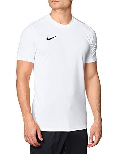 Nike Dri-Fit Park 7, Maglietta a Maniche Corte Uomo, Bianco (White/Black), M
