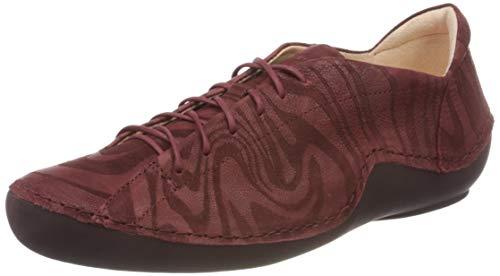 THINK! Damen KAPSL_3-000045 chromfrei gegerbter, nachhaltiger Sneaker, 5010 Barolo/Kombi