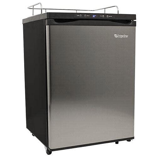 EdgeStar BR3001SS Full Size Kegerator Conversion Refrigerator Only w/Digital Temp Display
